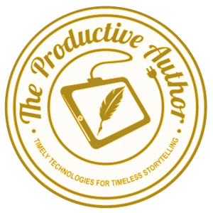 The Productive Author Logo Aqua 12