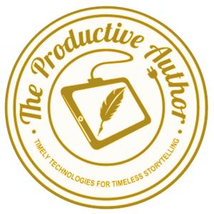 The Productive Author Logo Aqua 12